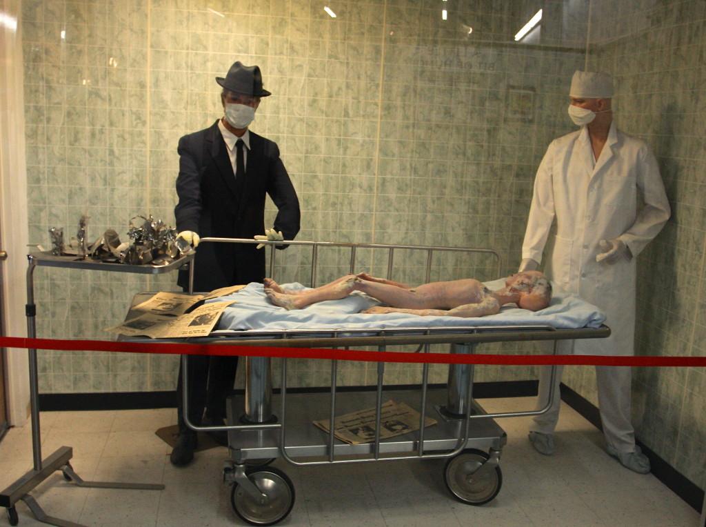 Alien Autopsy Display