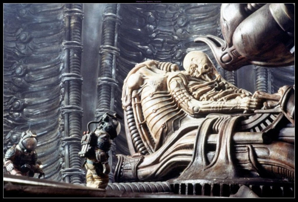 Space Jockey Alien