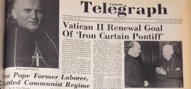 Throwback Thursday: Habemus John Paul II – Catholic Telegraph