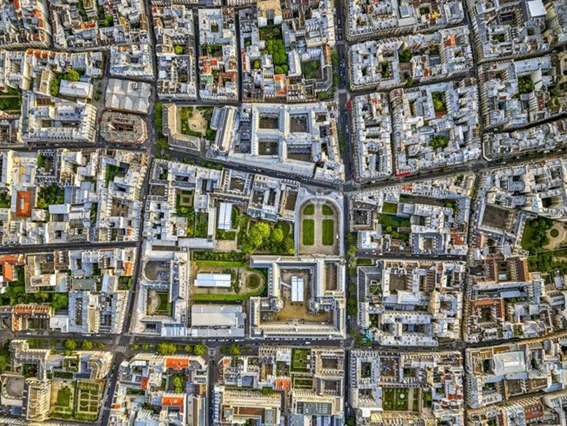 Aerial View of Paris   Jeffrey Milstein