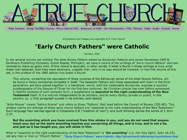 http://atruechurch.info/earlychurchfathers.html