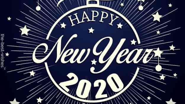 happy new year 2020 hd wallpaper