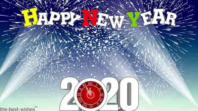 new year wishes images 2020