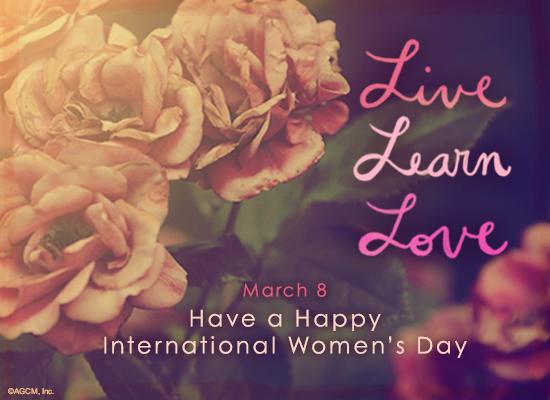 3/8 Happy International Women's Day (Postcard) | American Greetings