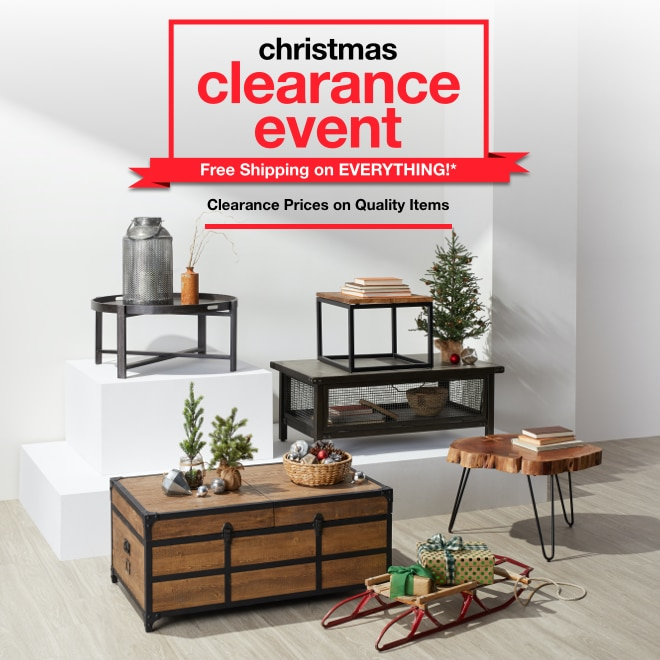 Christmas Clearance Event