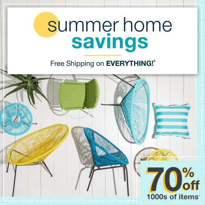 Summer Home Savings