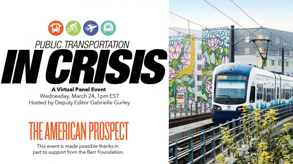 Public Transportation in Crisis with Chuy Garcia @ Online