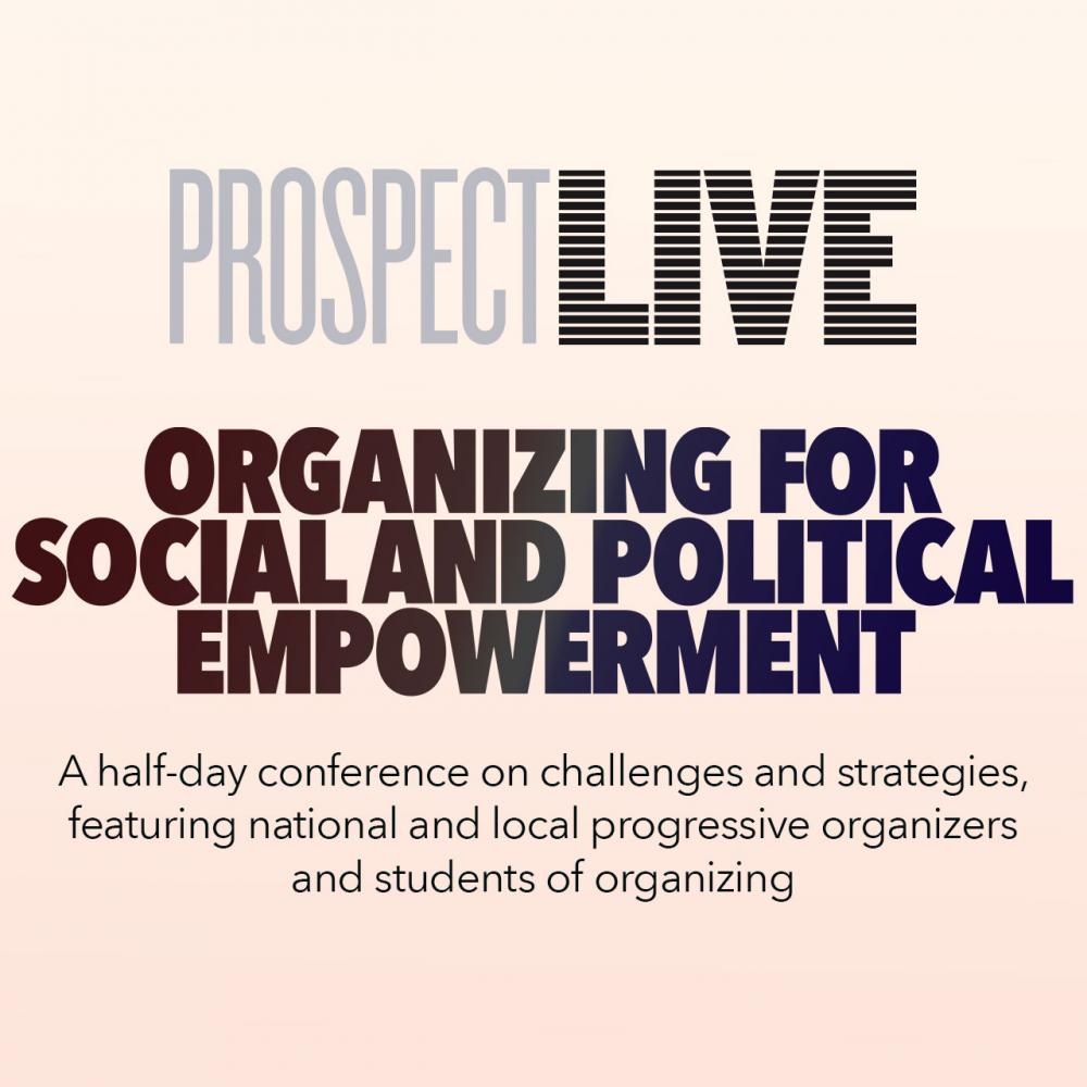 Organizing for Social and Political Empowerment @ Online