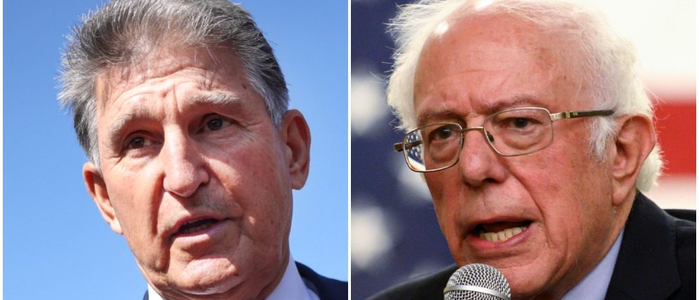 'No Relationship To Our State': Joe Manchin Hammers 'Socialist' Bernie Sanders Over Op-Ed In West Virginia Newspaper