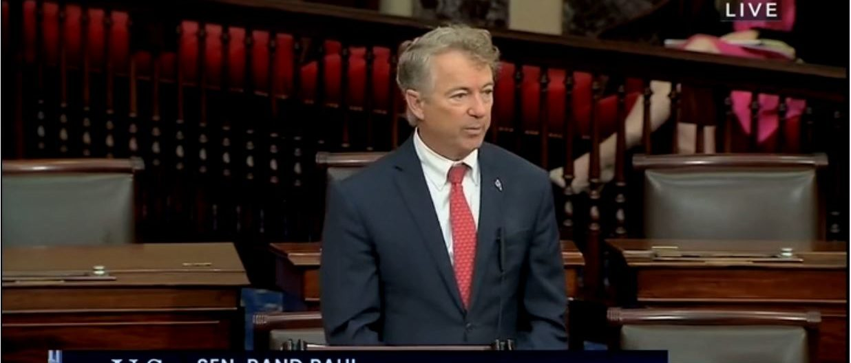 Rand Paul Repeatedly Objects To Iron Dome Funding Bill, Claims It Should Come Out Of Afghanistan Aid