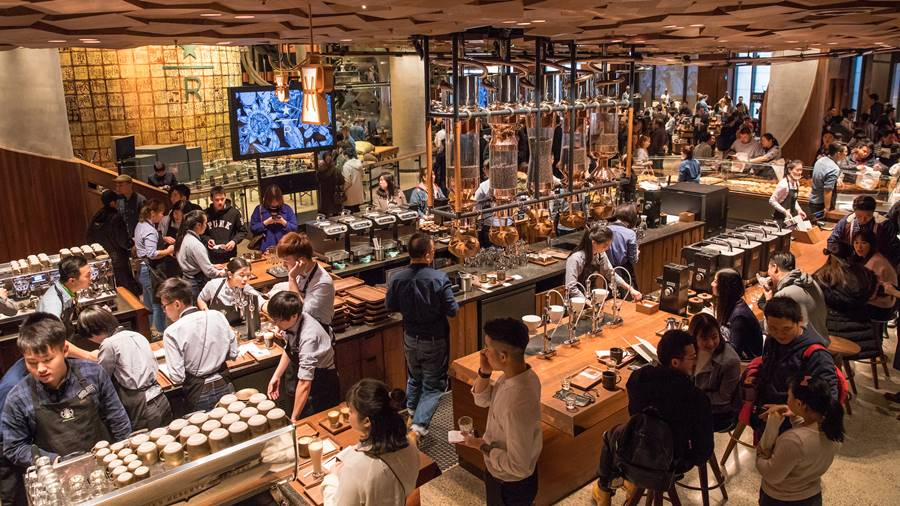 Image result for Starbucks china photos