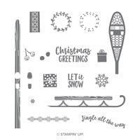 Alpine Adventure Photopolymer Stamp Set