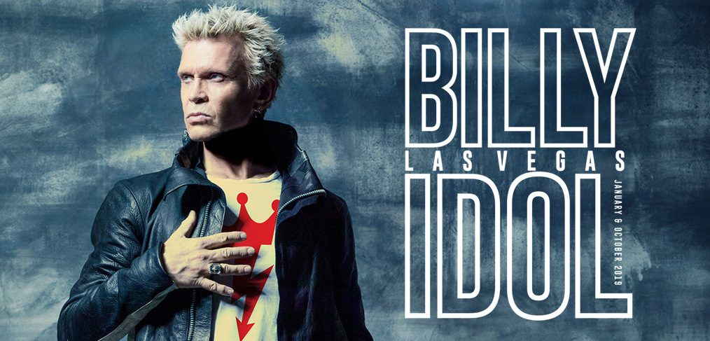 Image result for Billy Idol: Las Vegas Presented by SiriusXM