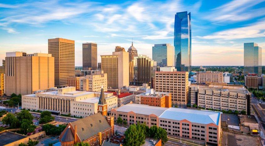 Sacramento, California, and Oklahoma City, Oklahoma (Tie)