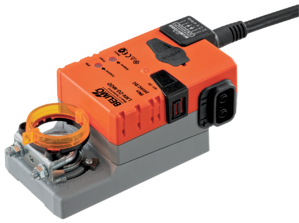 The  airflow measurement and control actuators communicate directly with a Building  Automation System (BAS) using BACnet, Modbus, or MP-Bus.