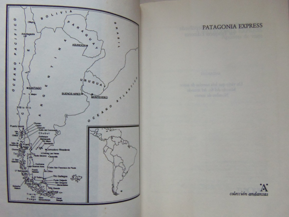 Tour Letterari: Patagonia Express