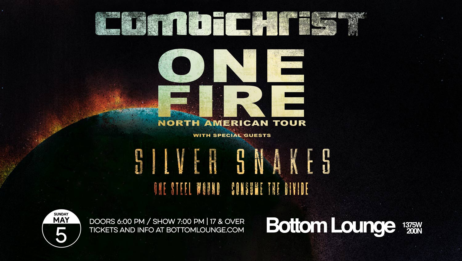 Combichrist | Bottom Lounge | May 5