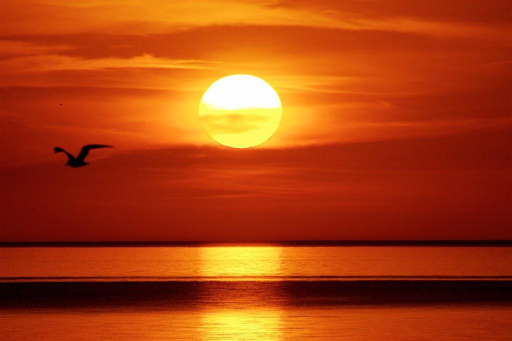 Sunrise Over Lake Michigan | von imageClear