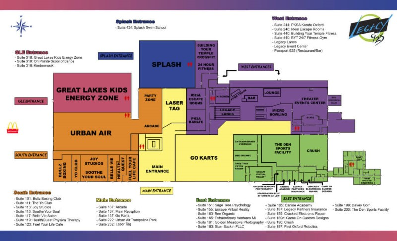 oxford site map