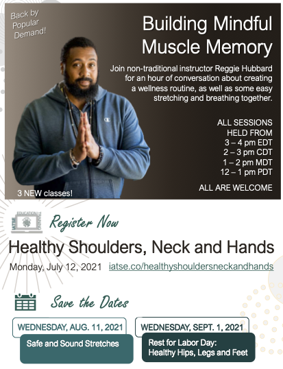 Building Mindful Muscle Memory: Healthy Shoulders, Neck and Hands