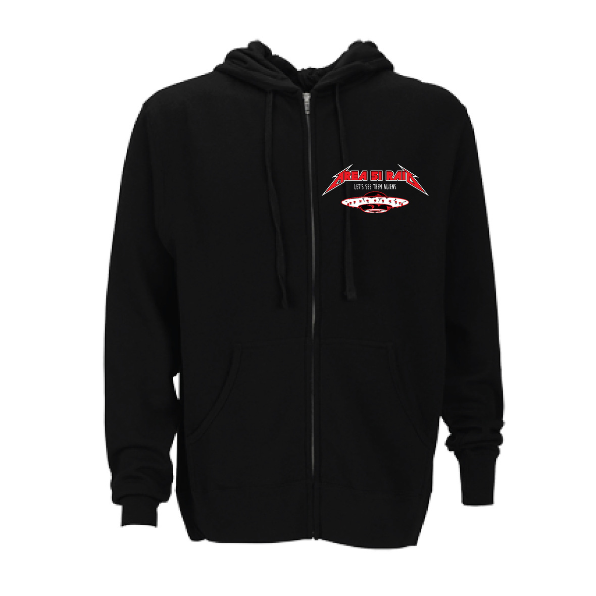 AREA 51-hoodiefront