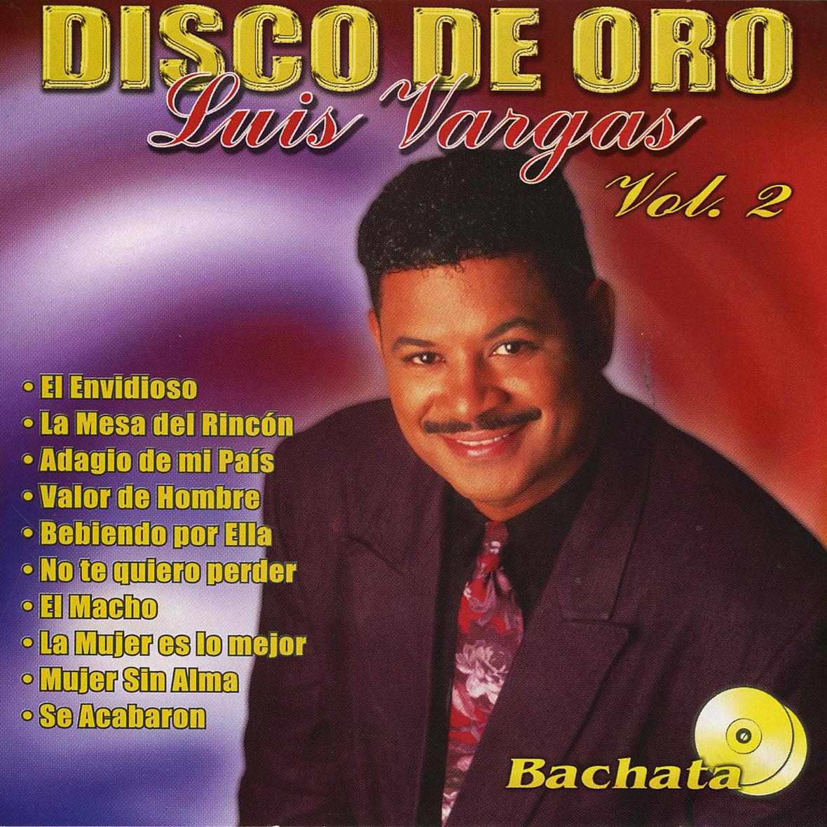 Luis Vargas Disco De Oro Vol 2