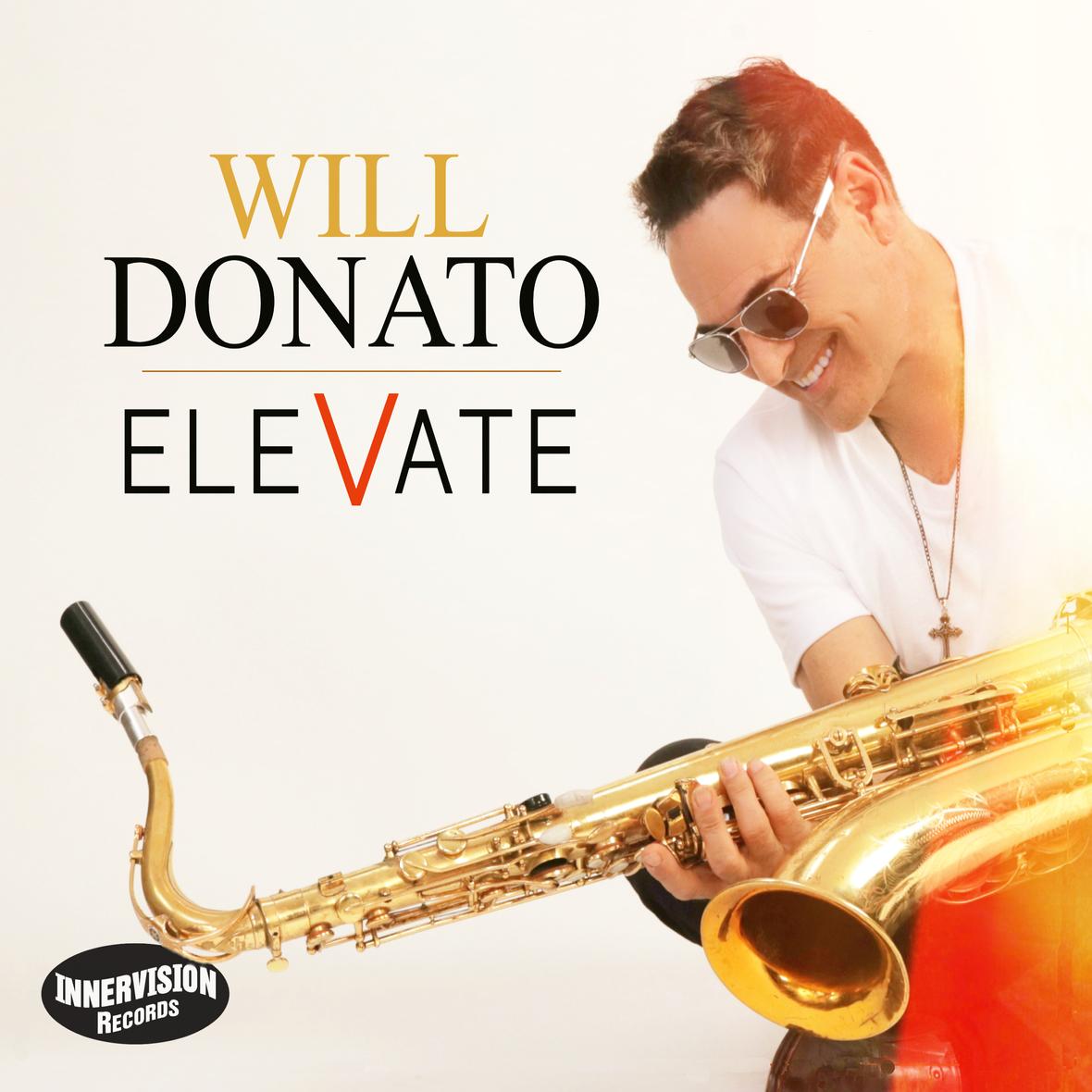 Will Donato - Elevate - Cover No Line