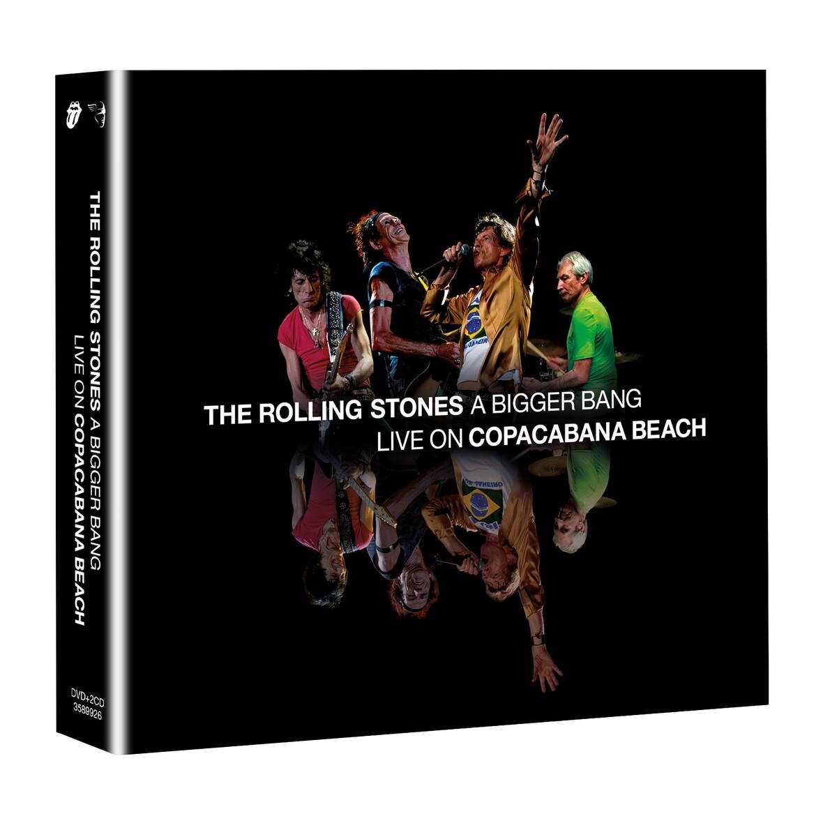 STONES DVD CD 3D