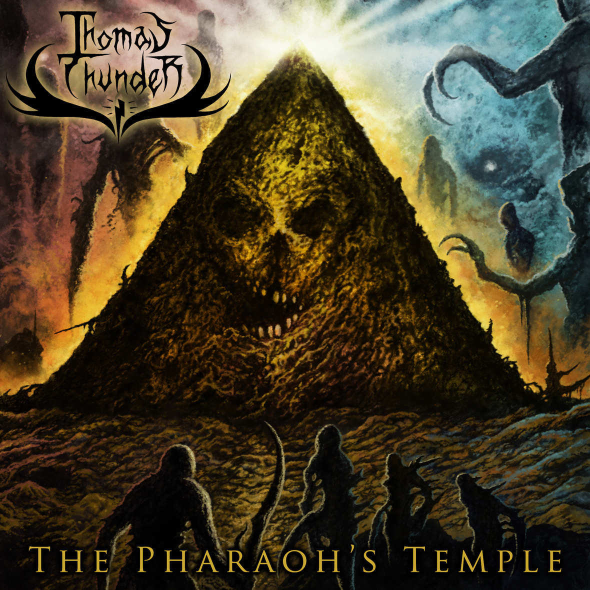 Thomas Thunder Album Art Pharaoh s Temple
