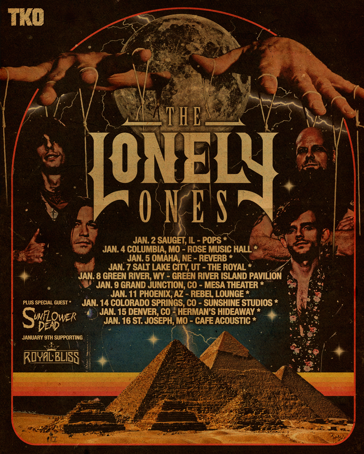THE LONELY ONES 3 1