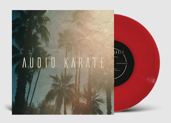 audio karate vinyl 7 inch
