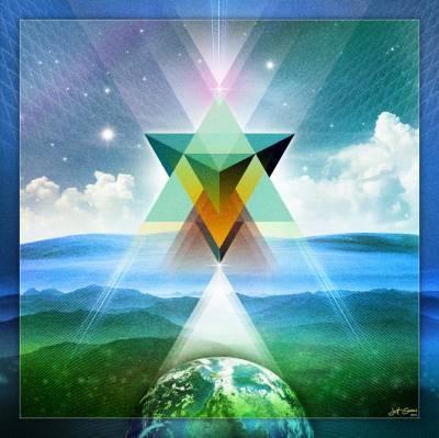 tetrahedron earth