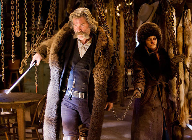 "Image result for kurt russell jennifer jason leigh ""the hateful eight"""