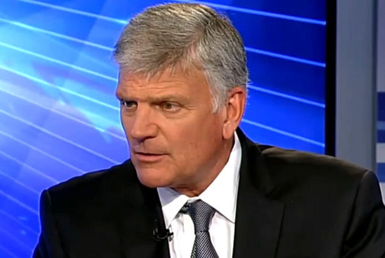 Rev. Graham: America is 'Under Attack' From 'Within,' Socialists Who Want Anarchy in Our Streets
