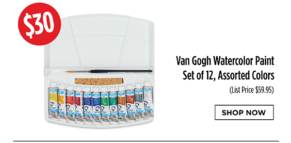 Van Gogh Watercolor Paint Set - $30