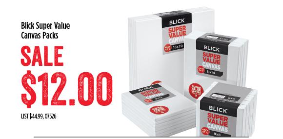 Blick Super Value Packs - SALE $12
