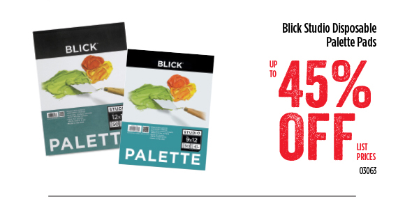 Blick Studio Disposable Palette Pads - up to 45% off list prices