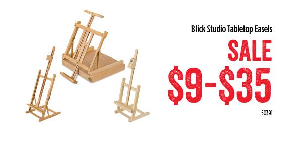 Blick Studio Tabletop Easels - SALE $9-$35