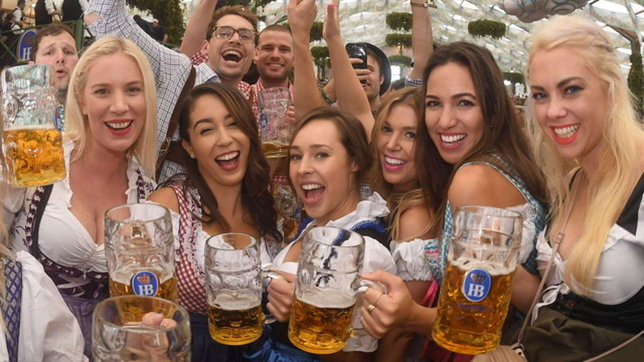 Image result for Oktoberfest 2018 photos beer tent