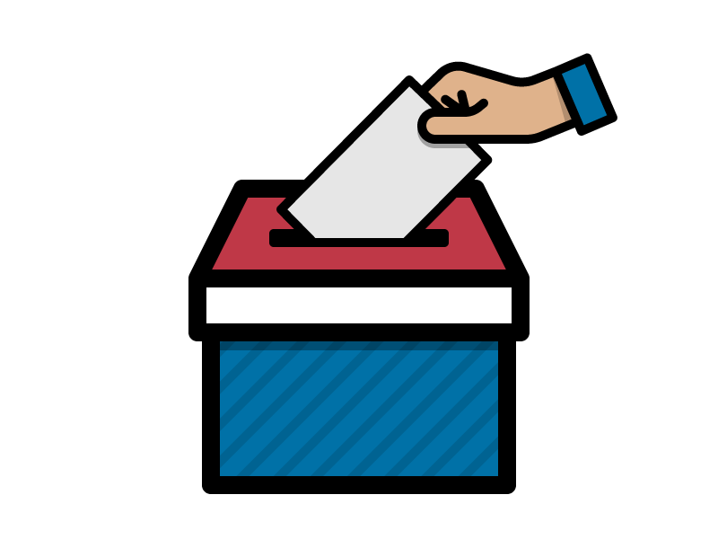 Image result for cartoon ballot box