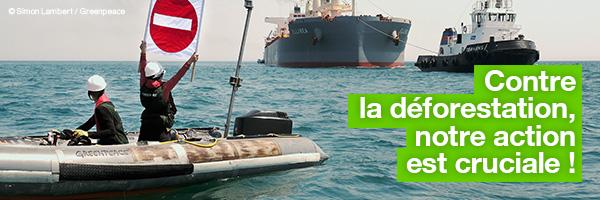 Trois jours de blocage à Sète. Contre la déforestation, notre action est cruciale !