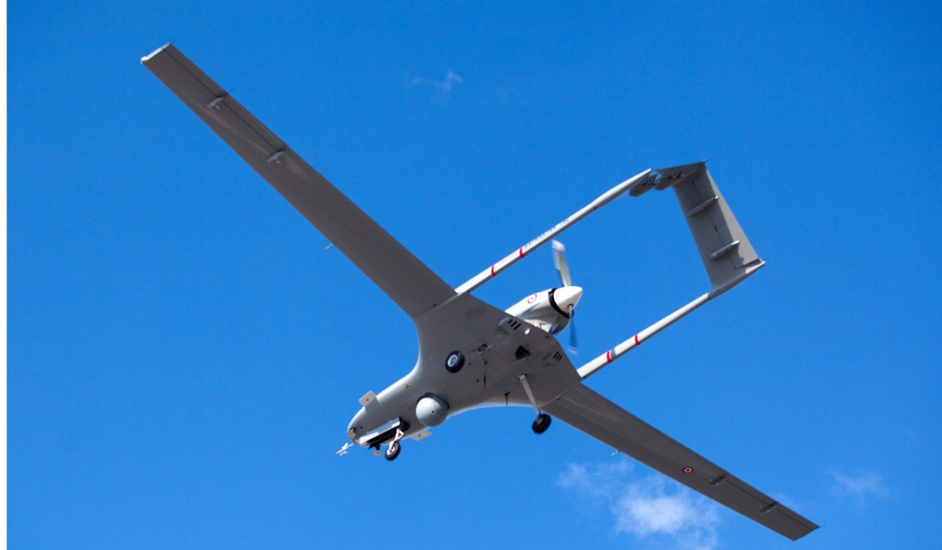 A Turkish Bayraktar TB2 drone. Turkey's parliament approved a security and military cooperation deal with Libya's UN-recognised unity government based in Tripoli. Photo: AFP