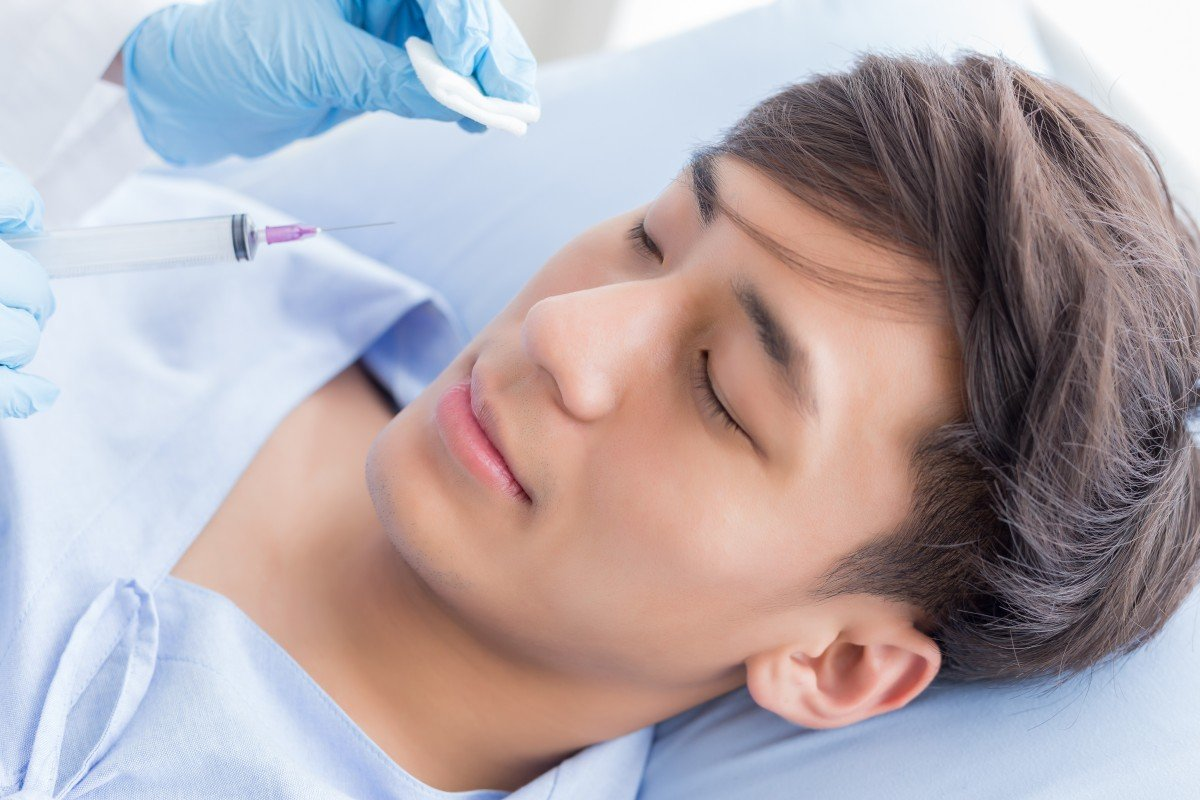 Chinese males are becoming more open to getting cosmetic surgery. Men make up 15 per cent of China's US$70 billion aesthetic medicine industry. Photo: Shutterstock