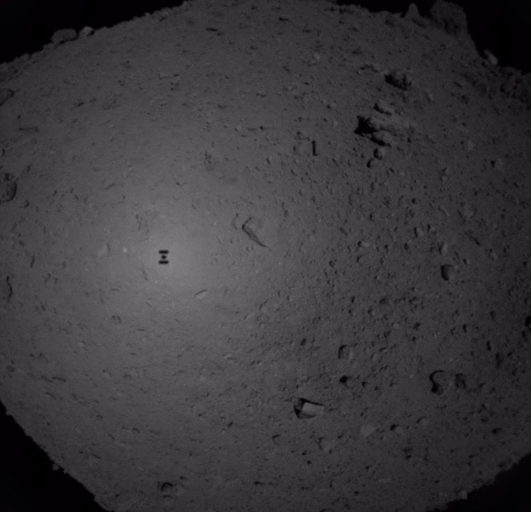 Japanese Spacecraft Successfully Snags Sample of Asteroid Ryugu