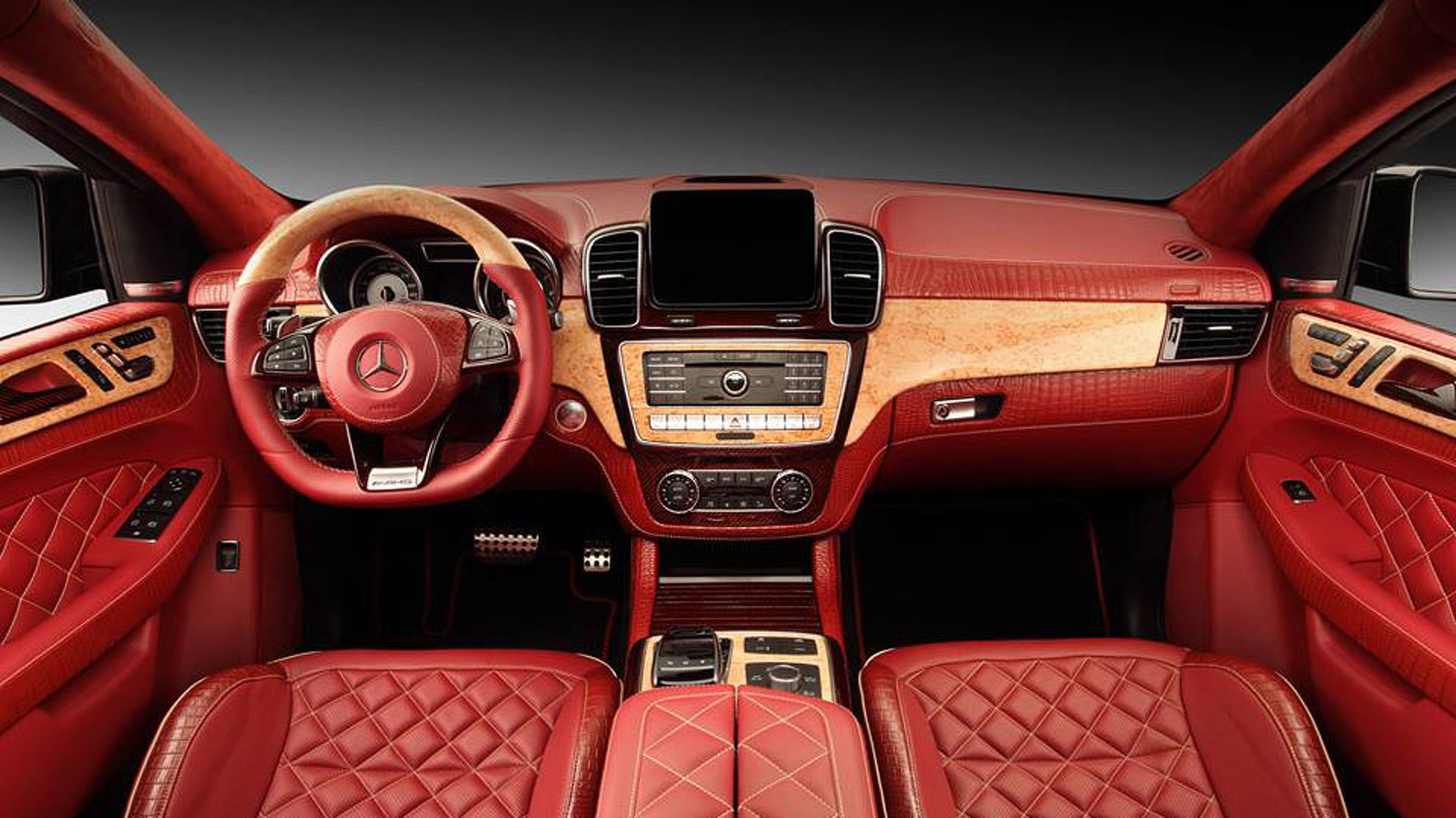 Image result for Mercedes-AMG GLE63 S  interior hd photos