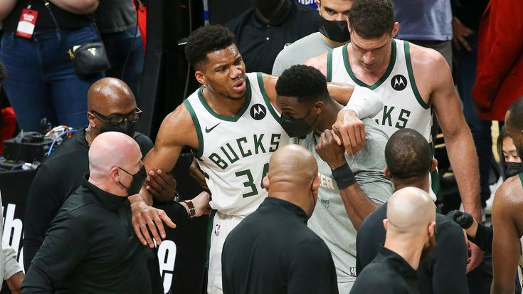 Bucks struggle in Game 4 even before losing Giannis