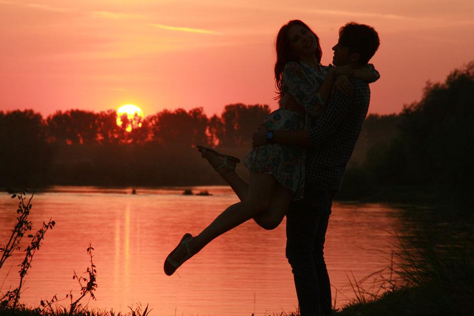 Couple Love Sunset - Free photo on Pixabay