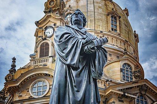 Dresden, Frauenkirche, Martin Luther