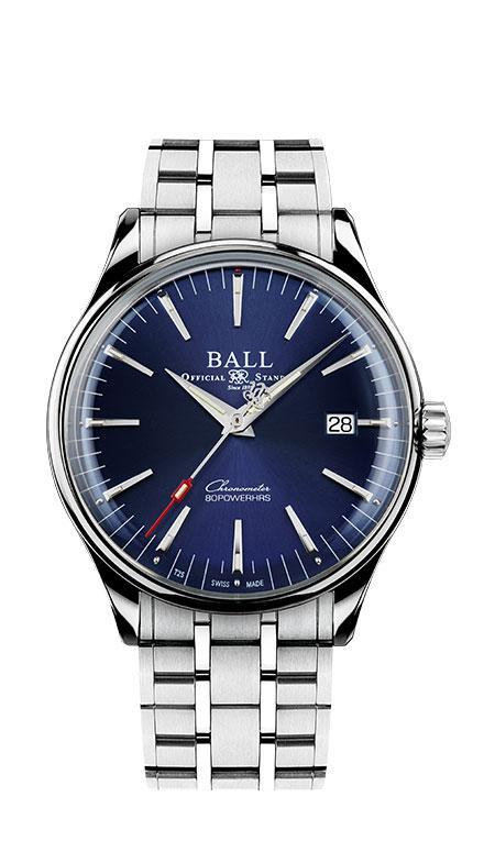 BALL NM3280D-S1CJ-BE Trainmaster Manufacture 40mm Watch