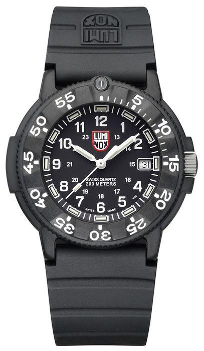Luminox 3001 Original Navy Seal Black Dial 43mm Watch